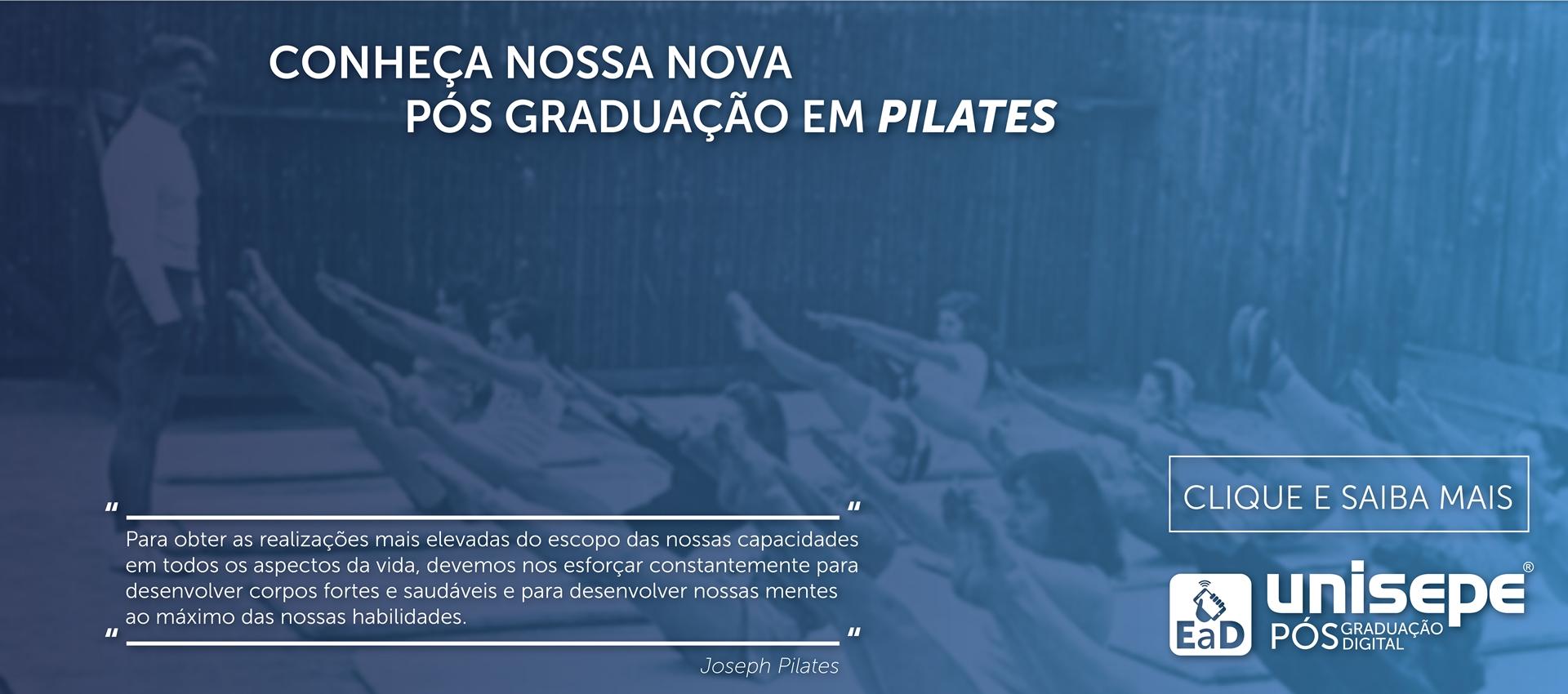 Pós graduação EAD em Pilates - Graduação digital | UNISEPE