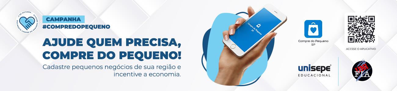 Web Banner Compre do Pequeno Unifia - Centro Universitário Amparense | UNISEPE