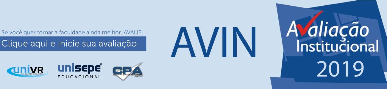 AVIN 2019 UNIVR - Centro Universitário do Vale do Ribeira | UNISEPE