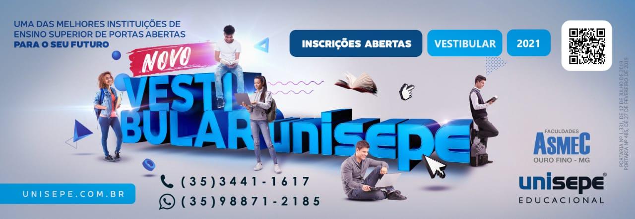 Vestibular UNISEPE - Faculdades Integradas ASMEC | UNISEPE
