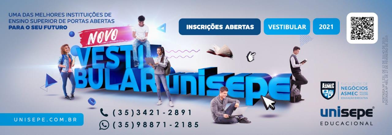vestibular PA - Instituto de Educação Superior de Pouso Alegre | UNISEPE