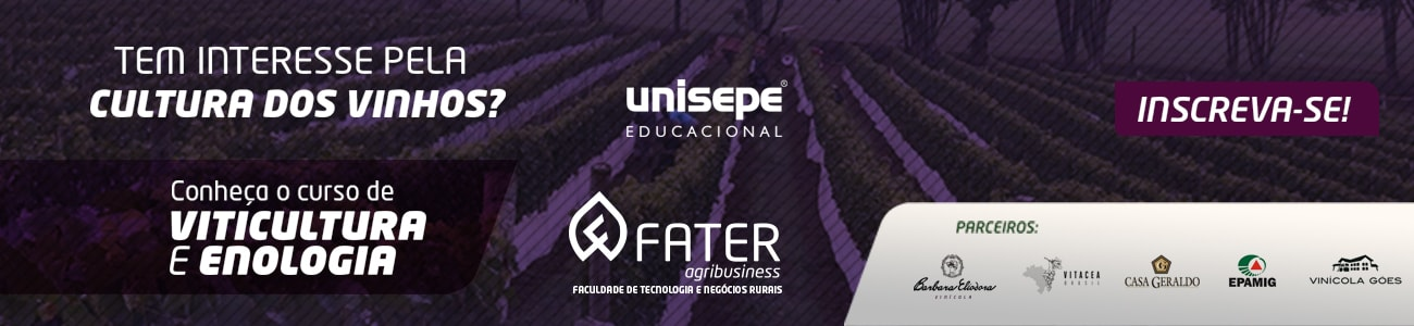 Fater - Graduação em Viticultura e Enologia - Centro Universitário do Vale do Ribeira | UNISEPE