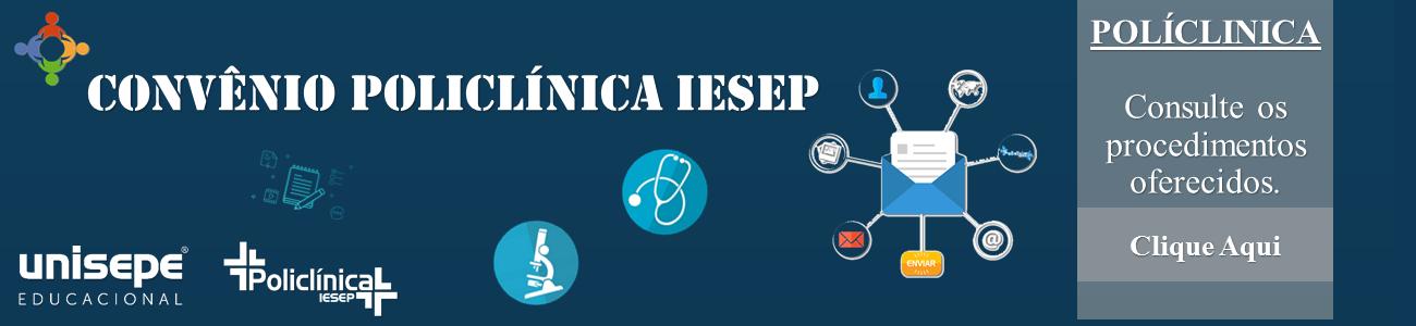 policlinica serviços - Faculdades Integradas do Vale do Ribeira | UNISEPE