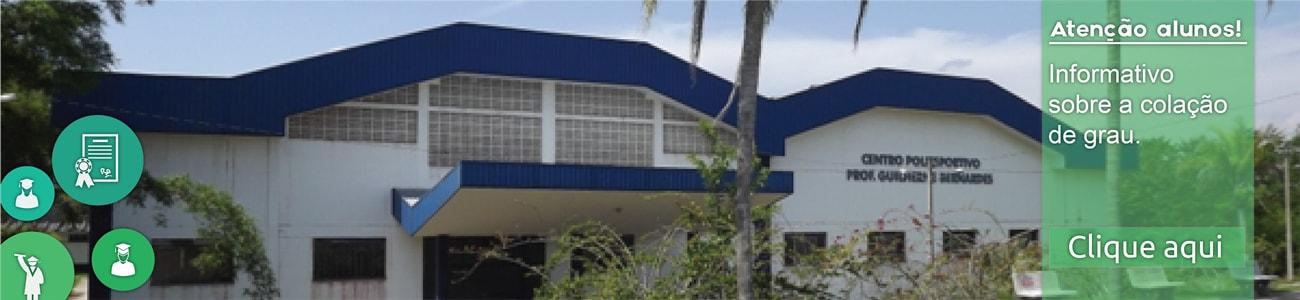 Informativo sobre colação de grau - UNIVR - Centro Universitário do Vale do Ribeira | UNISEPE
