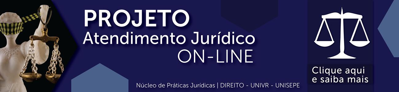 Projeto atendimento juridico on-line NPJ - DIREITO UNIVR - Centro Universitário do Vale do Ribeira | UNISEPE